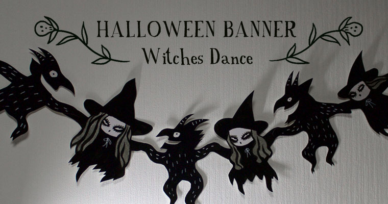 Witches Dance – Halloween Banner